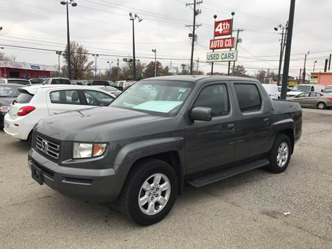 2007 Honda Ridgeline for sale at 4th Street Auto in Louisville KY