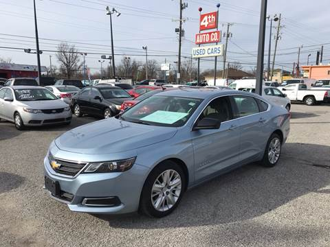 2014 Chevrolet Impala for sale at 4th Street Auto in Louisville KY