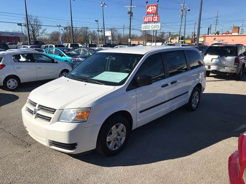 2008 Dodge Grand Caravan for sale at 4th Street Auto in Louisville KY