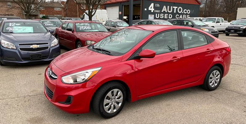 2017 Hyundai Accent for sale at 4th Street Auto in Louisville KY