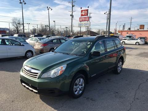 2011 Subaru Outback for sale at 4th Street Auto in Louisville KY