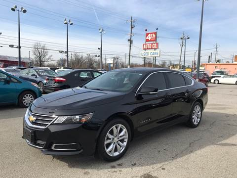 2017 Chevrolet Impala for sale at 4th Street Auto in Louisville KY