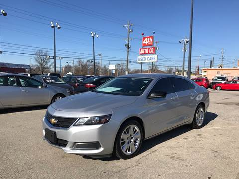 2015 Chevrolet Impala for sale at 4th Street Auto in Louisville KY
