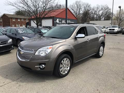2010 Chevrolet Equinox for sale at 4th Street Auto in Louisville KY