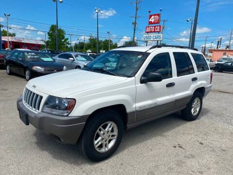 2004 Jeep Grand Cherokee for sale at 4th Street Auto in Louisville KY