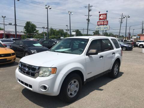 2008 Ford Escape for sale at 4th Street Auto in Louisville KY