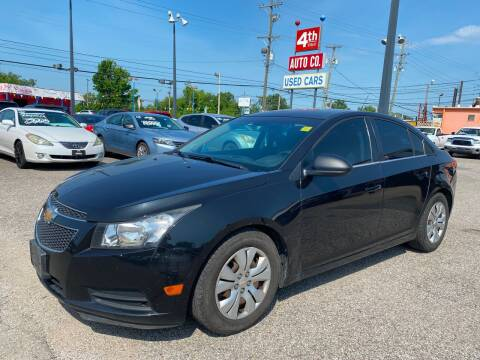 2012 Chevrolet Cruze for sale at 4th Street Auto in Louisville KY