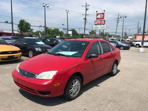 2007 Ford Focus for sale at 4th Street Auto in Louisville KY