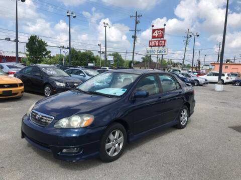 2006 Toyota Corolla for sale at 4th Street Auto in Louisville KY