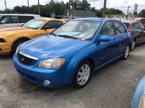 2006 Kia Spectra for sale at 4th Street Auto in Louisville KY