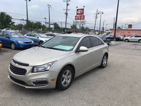 2015 Chevrolet Cruze for sale at 4th Street Auto in Louisville KY