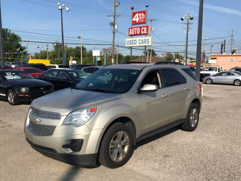 2015 Chevrolet Equinox for sale at 4th Street Auto in Louisville KY