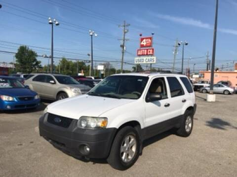2006 Ford Escape for sale at 4th Street Auto in Louisville KY