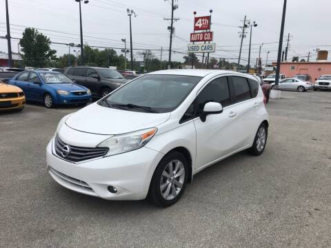 2014 Nissan Versa Note for sale at 4th Street Auto in Louisville KY