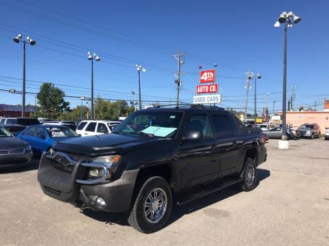 2003 Chevrolet Avalanche for sale at 4th Street Auto in Louisville KY