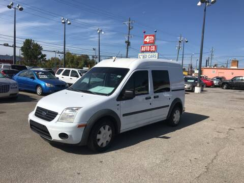 2011 Ford Transit Connect for sale at 4th Street Auto in Louisville KY