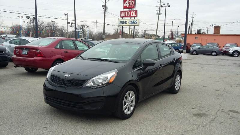 2014 Kia Rio LX 4dr Sedan 6A In Louisville KY - 4th Street Auto