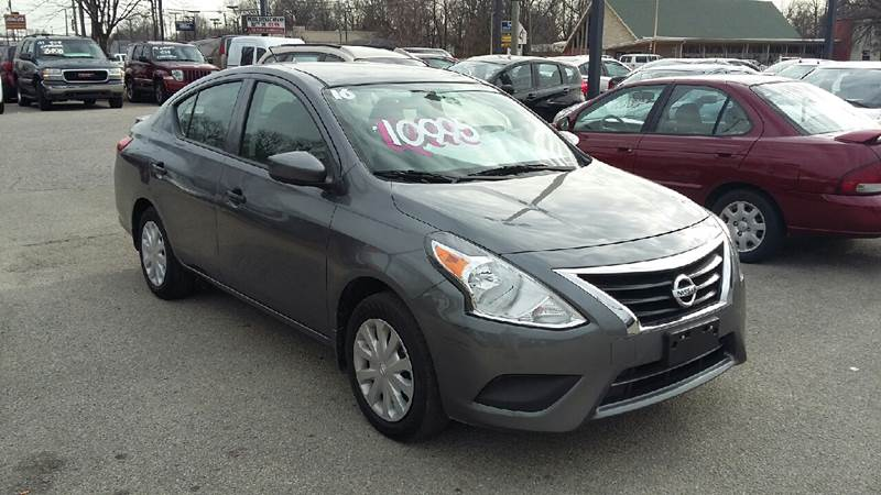 2016 Nissan Versa 1.6 S 4dr Sedan 4A in Louisville, KY | Used Cars for Sale on EasyAutoSales.com