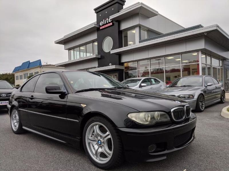 2004 Bmw 3 Series 330Ci 2dr Coupe In Virginia Beach VA - Elite Motors