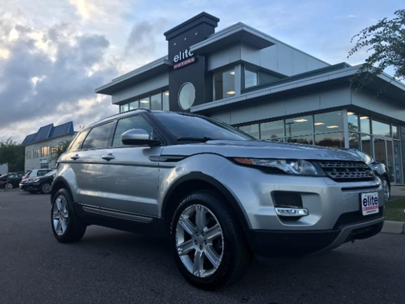 2015 Land Rover Range Rover Evoque Awd Pure Plus 4dr Suv In Virginia