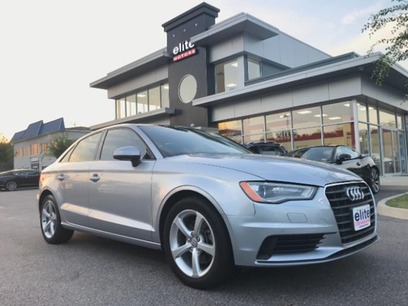 Audi A T Premium Dr Sedan In Virginia Beach VA Elite Motors - Audi virginia beach
