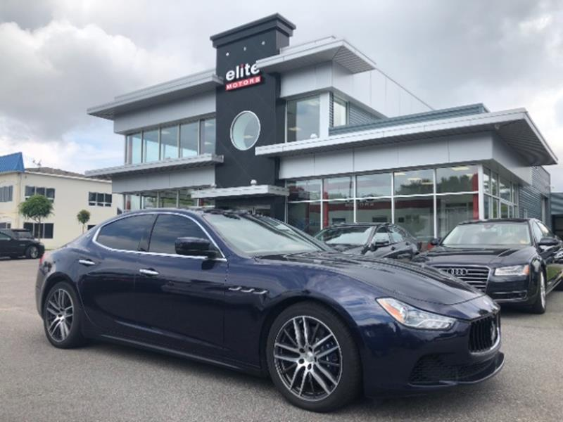 2015 Maserati Ghibli Awd S Q4 4dr Sedan In Virginia Beach Va Elite