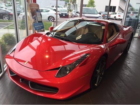 2012 Ferrari 458 Spider For Sale In Virginia Beach Va