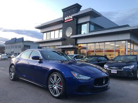 Used Maserati Ghibli For Sale In Virginia Beach Va Carsforsale Com