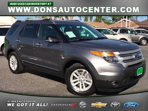 2014 Ford Explorer for sale in Fontana, CA