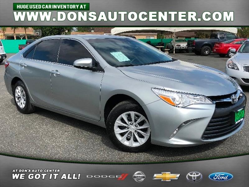 Toyota Used Cars Financing For Sale Fontana Dons Auto Center - All toyota vehicles