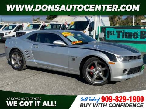 2014 Chevrolet Camaro LS for sale at Dons Auto Center in Fontana CA