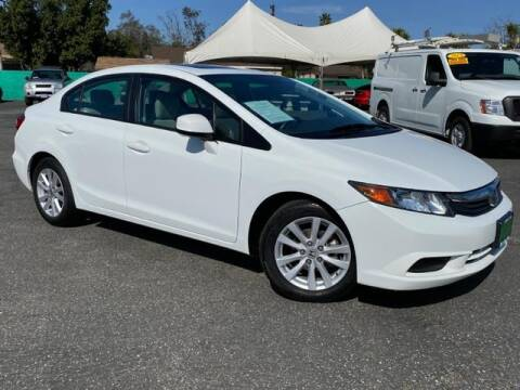 2012 Honda Civic EX for sale at Dons Auto Center in Fontana CA