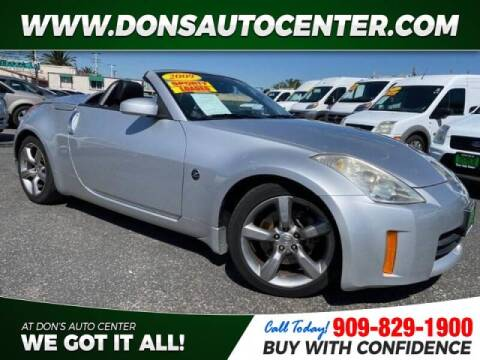 2009 Nissan 350Z for sale at Dons Auto Center in Fontana CA
