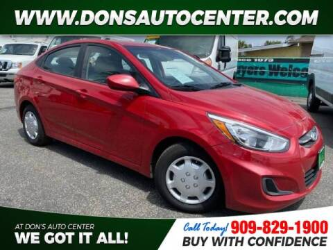 2017 Hyundai Accent for sale at Dons Auto Center in Fontana CA