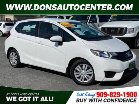 2015 Honda Fit for sale at Dons Auto Center in Fontana CA