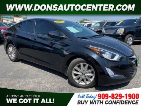 2015 Hyundai Elantra for sale at Dons Auto Center in Fontana CA