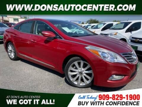 2013 Hyundai Azera for sale at Dons Auto Center in Fontana CA