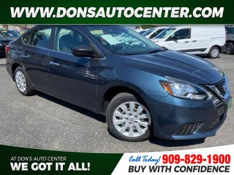 2017 Nissan Sentra for sale at Dons Auto Center in Fontana CA