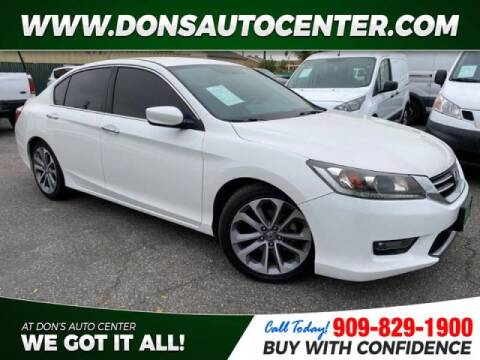 2014 Honda Accord for sale at Dons Auto Center in Fontana CA