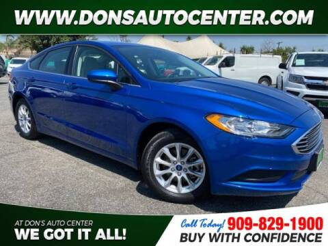 2017 Ford Fusion for sale at Dons Auto Center in Fontana CA