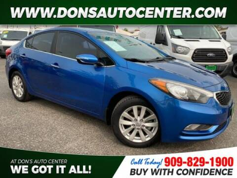 2014 Kia Forte for sale at Dons Auto Center in Fontana CA