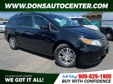 2012 Honda Odyssey for sale at Dons Auto Center in Fontana CA