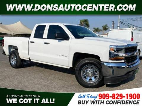 2018 Chevrolet Silverado 1500 for sale at Dons Auto Center in Fontana CA