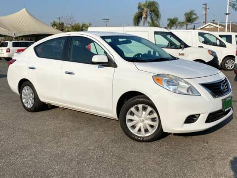 2014 Nissan Versa for sale at Dons Auto Center in Fontana CA