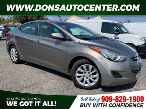 2013 Hyundai Elantra for sale at Dons Auto Center in Fontana CA