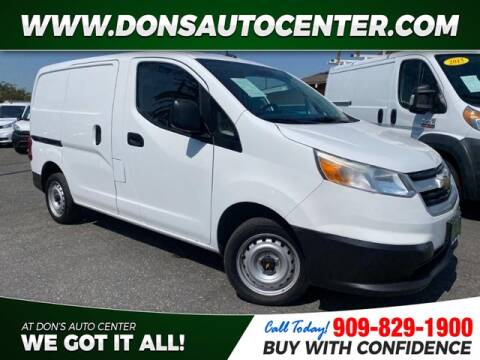 2015 Chevrolet City Express Cargo for sale at Dons Auto Center in Fontana CA