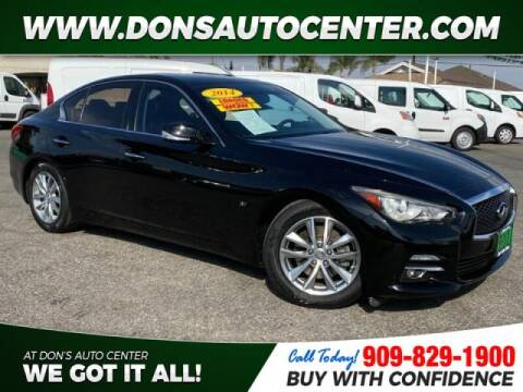 2014 Infiniti Q50 for sale at Dons Auto Center in Fontana CA