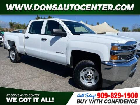 2016 Chevrolet Silverado 2500HD for sale at Dons Auto Center in Fontana CA