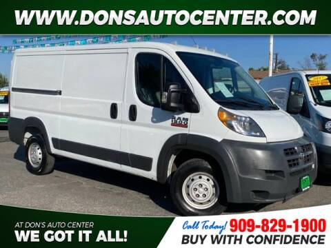2015 RAM ProMaster Cargo for sale at Dons Auto Center in Fontana CA