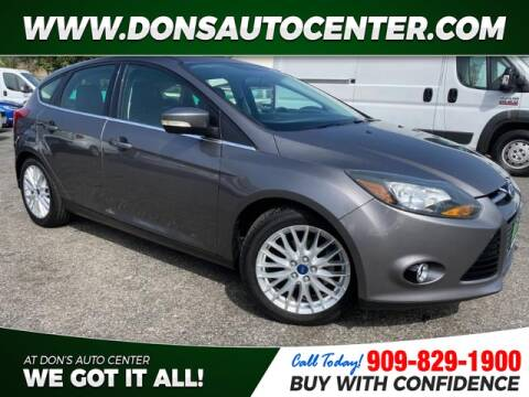 2013 Ford Focus for sale at Dons Auto Center in Fontana CA